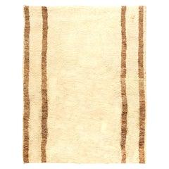 Tribal Style Moroccan Wool Area Rug