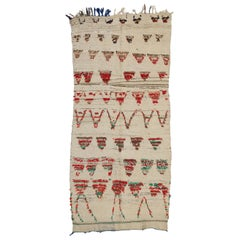 Tribal Style Vintage Moroccan Azilal Runner Moroccan Hallway Runner