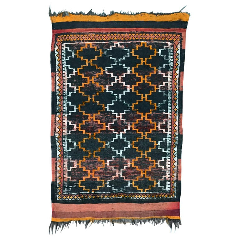 Tribal Vintage Moroccan Rug For Sale At 1stdibs