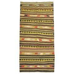 Tribal Vintage Turkish Kilim