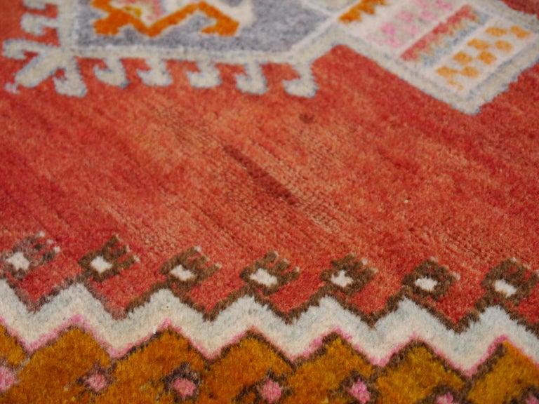 Mid-20th Century Tribal Vintage Turkish Yoruk Rug For Sale