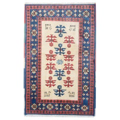 Tribal Wool Area Rug, Handmade Carpet Sale, Wool Oriental Carpet Rug