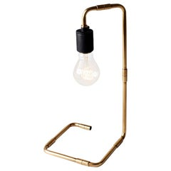 Tribeca Reade Table Lamp, Brass