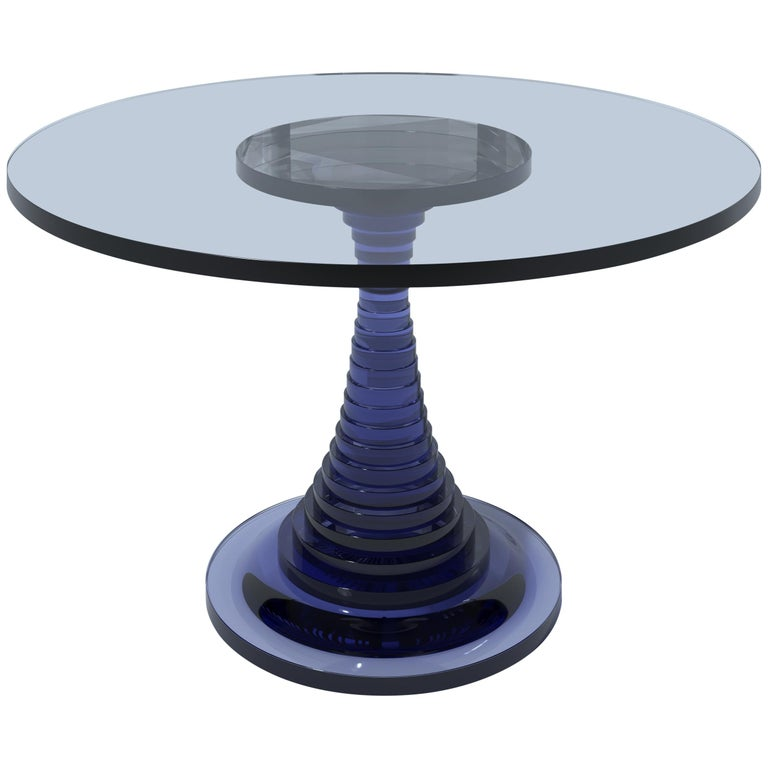 Tribute Dining Table to Carlo De Carli by A. Guerriero and Studio Superego For Sale