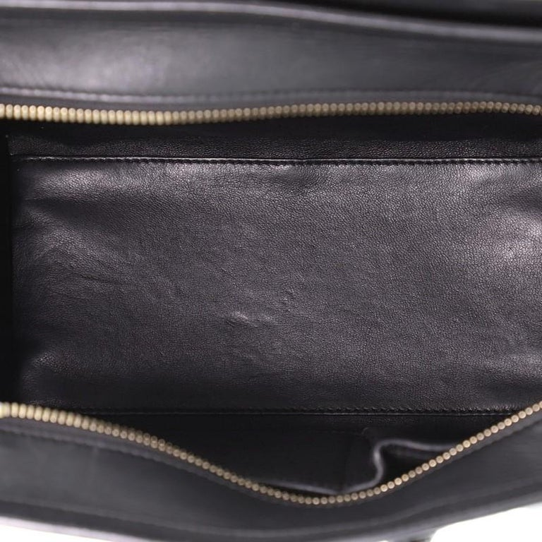 Women's or Men's Tricolor Luggage Bag Leather Micro For Sale