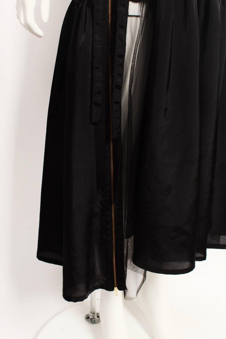 Women's or Men's Tricot By Comme Des Garcons Tulle Wrap Skirt For Sale