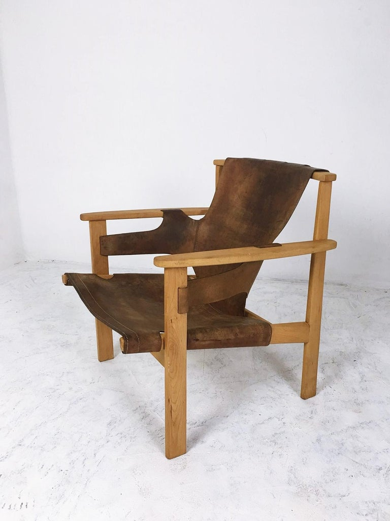 Scandinavian Modern Trienna Lounge Chair by Carl-Axel Acking For Sale
