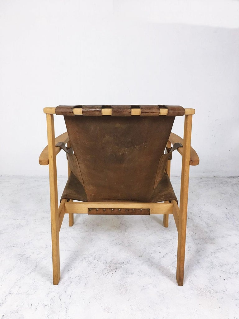 Trienna Lounge Chair by Carl-Axel Acking In Fair Condition For Sale In Debrecen-Pallag, HU