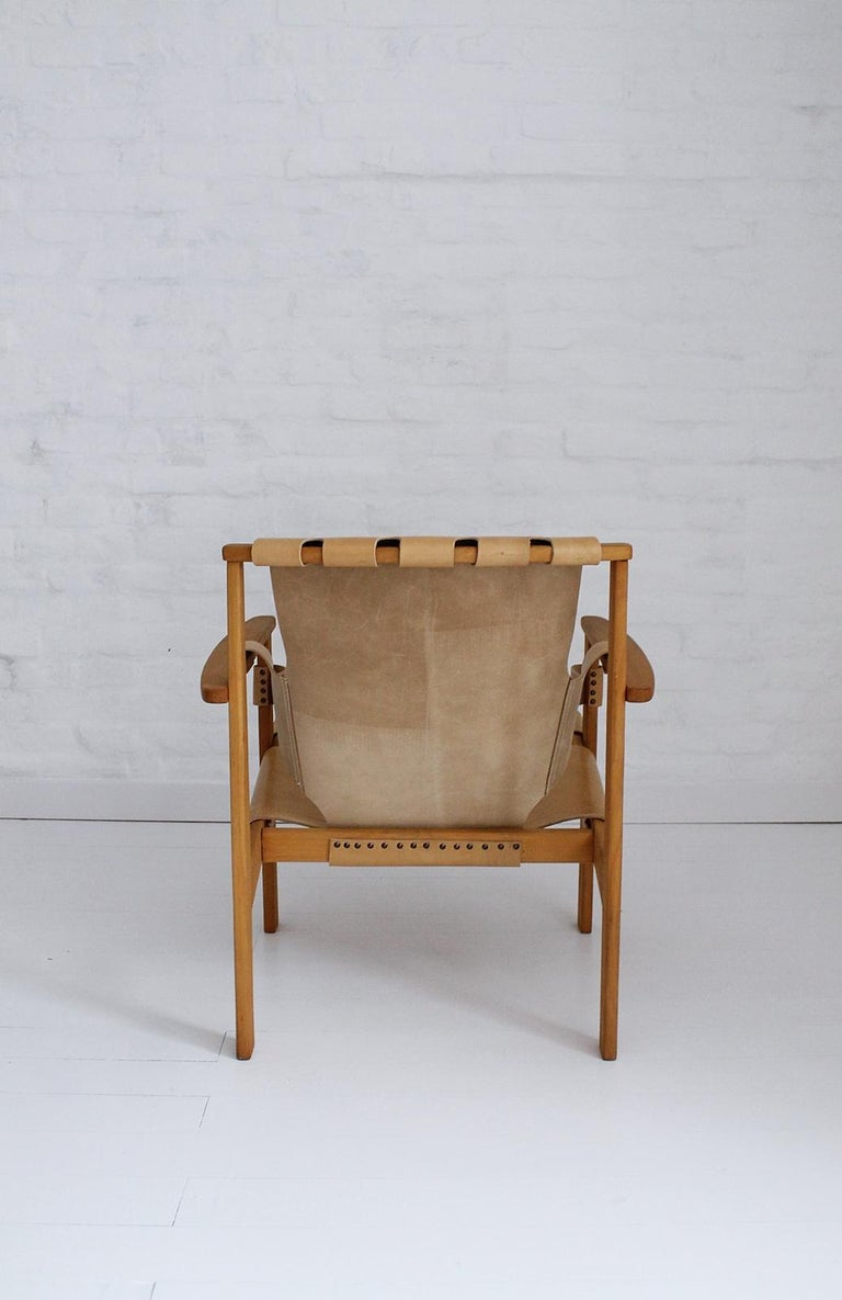 Trienna Lounge Chair by Carl-Axel Acking In Good Condition For Sale In Debrecen-Pallag, HU