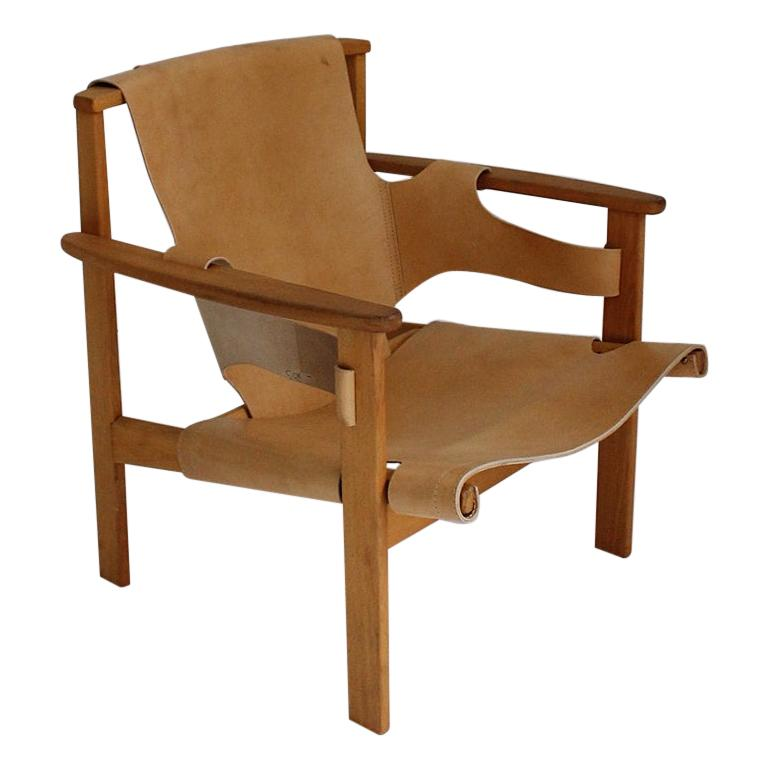 Trienna Lounge Chair by Carl-Axel Acking For Sale
