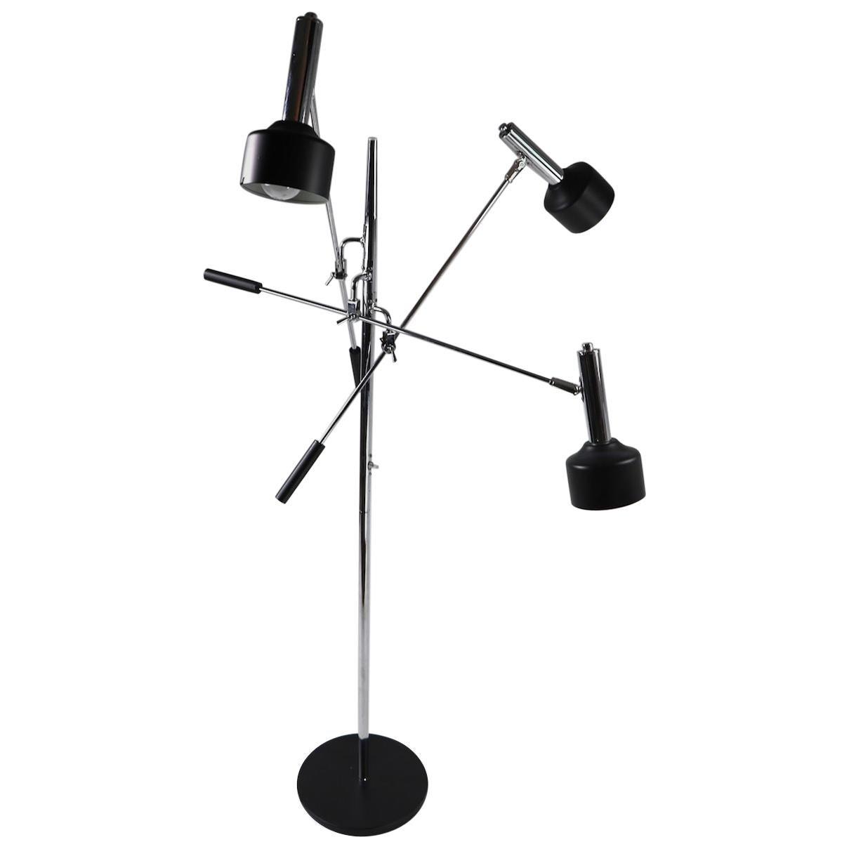 Triennale Three-Arm Floor Lamp  by Robert Sonneman