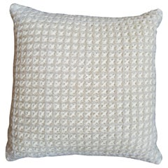 """""""Trieste"""" Waffle Weave Pillow by Le Lampade"""