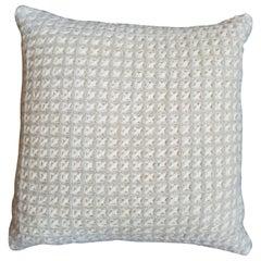 """""""Trieste"""" Waffle Weave Pillow"""