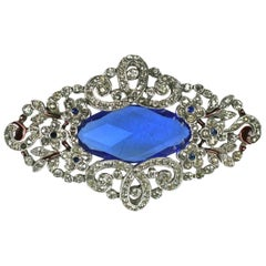 Trifari Alfred Phillipe Art Deco Brooch