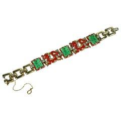 Trifari Alfred Phillipe Ming Dragon Bracelet