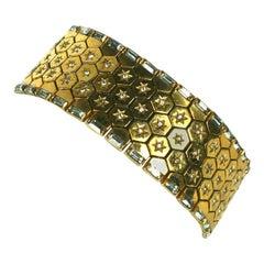 Trifari Retro Tread Bracelet