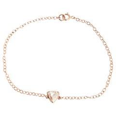 Trillion Rose Cut Diamond Bracelet