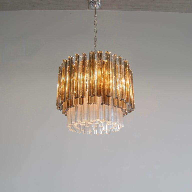 Trilobi Glass Chandelier, Murano In Excellent Condition In Berlin, Berlin