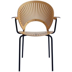 Trinidad Armchair in Maple by Nanna Ditzel and Fredericia, 1990s