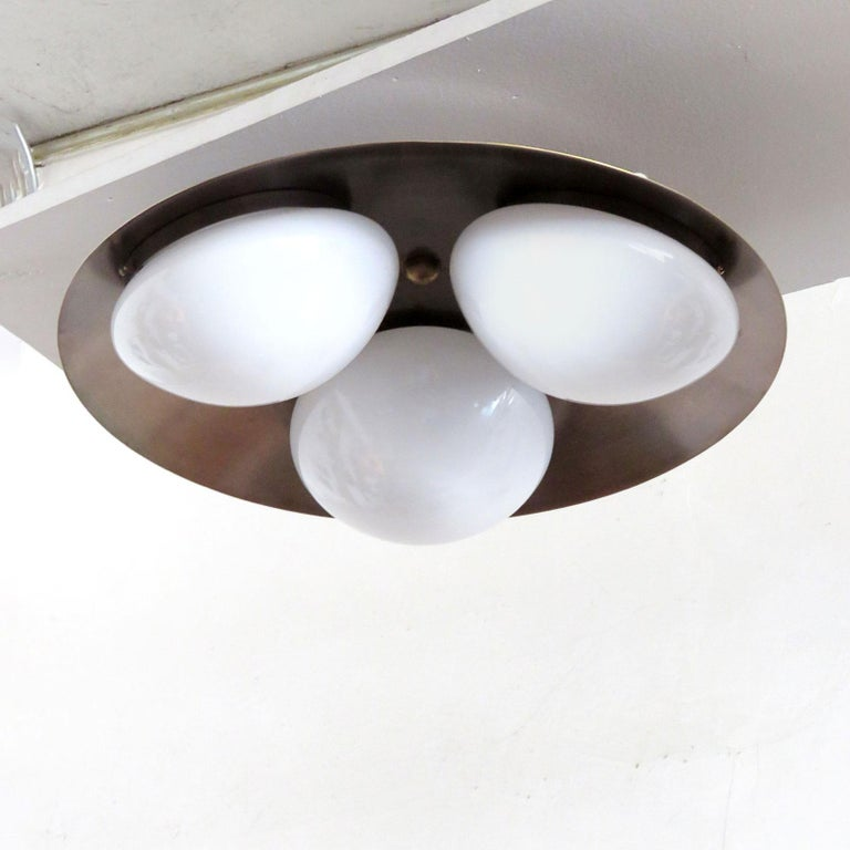 Organic Modern 'Trinova' Ceiling Light by Gallery L7 For Sale