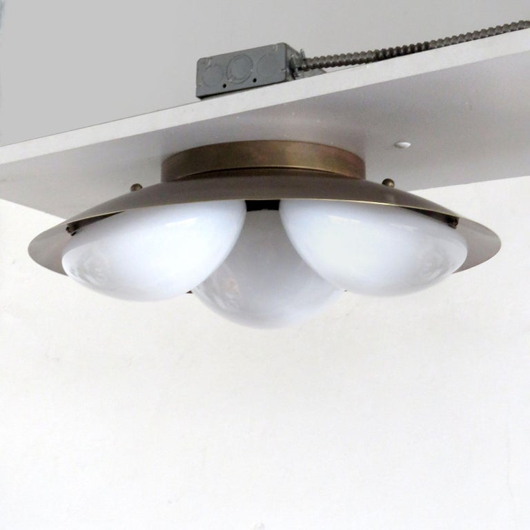 American 'Trinova' Ceiling Light by Gallery L7 For Sale