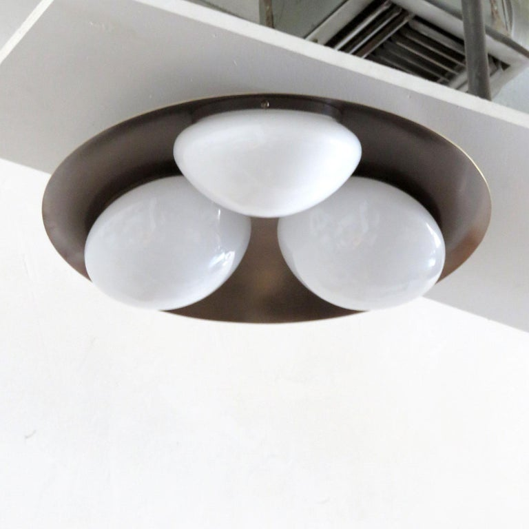 Contemporary 'Trinova' Ceiling Light by Gallery L7 For Sale