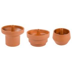 Trinum Ceramic Planters, Contemporary Mexican Design