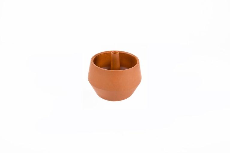 Trinum Diamond Ceramic Planter, Contemporary Mexican Design In New Condition For Sale In Mexico City, MX