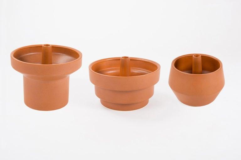 Trinum Pedestal Multi Planter, Contemporary Mexican Design For Sale 3