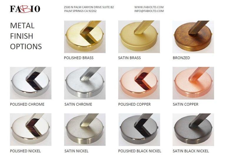 Murano Glass Trio Flush Mount by Fabio Ltd For Sale