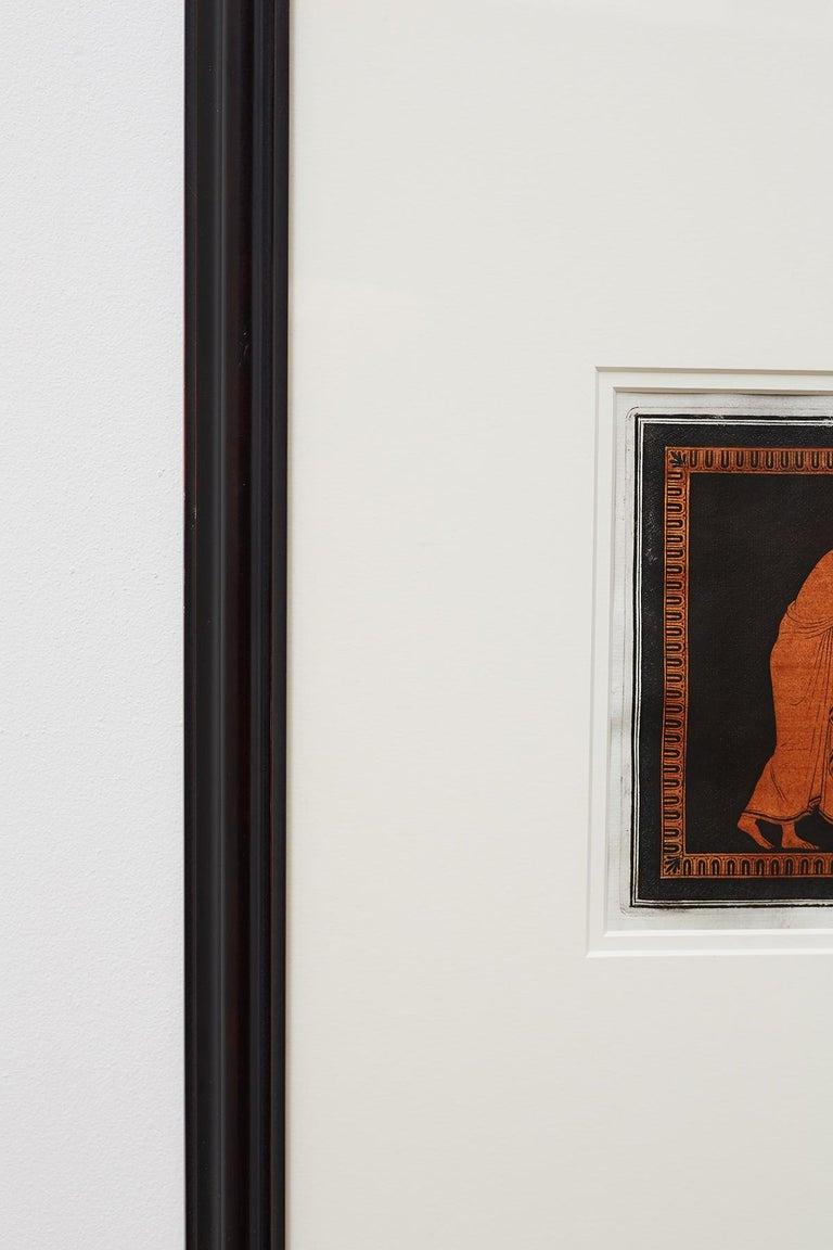 Trio of English William Hamilton Neoclassical Engravings For Sale 5