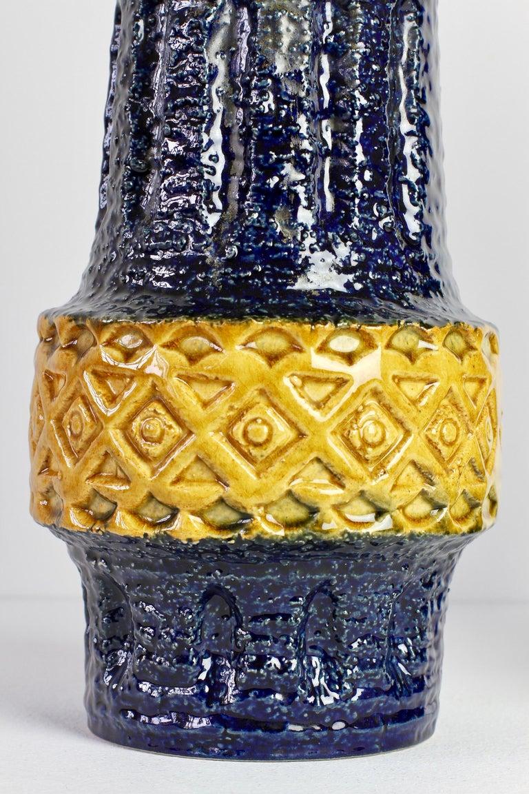 Trio of Mid-Century West German Vases by Bay Keramik & Spara Pottery, circa 1970 For Sale 1