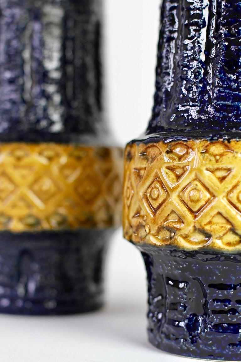 Trio of Mid-Century West German Vases by Bay Keramik & Spara Pottery, circa 1970 For Sale 2