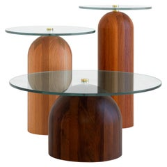 Trio of Side Tables, Leandro Garcia, Contemporary Brazil Design
