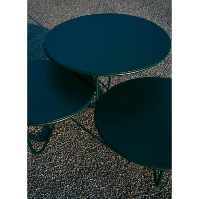 Trio Side Table by Nendo For Sale 4