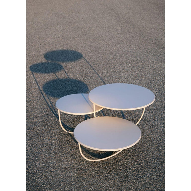 Modern Trio Side Table by Nendo For Sale
