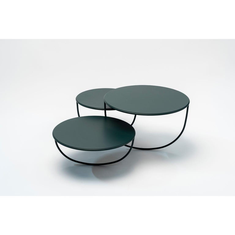 French Trio Side Table by Nendo For Sale