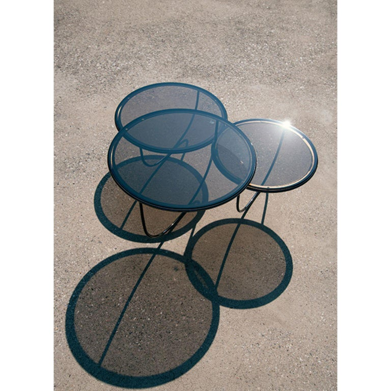 Trio Side Table by Nendo In New Condition For Sale In Geneve, CH