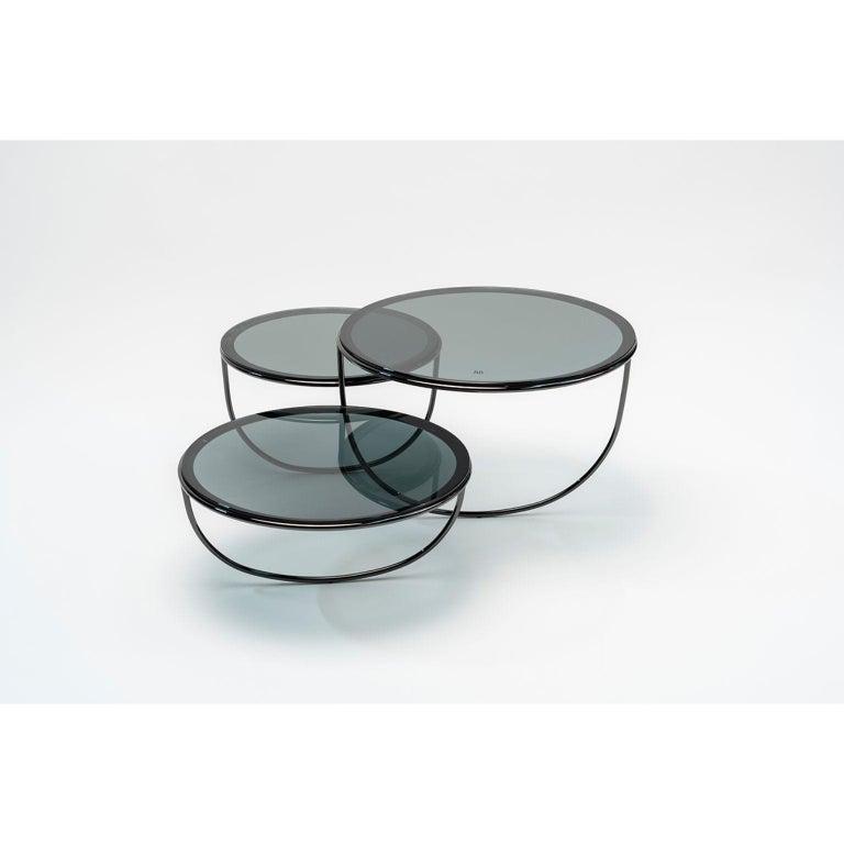 Contemporary Trio Side Table by Nendo For Sale