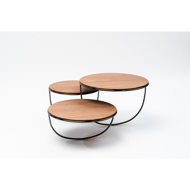 Trio Side Table by Nendo For Sale 1