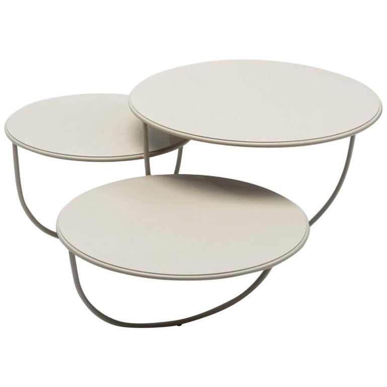 Trio Side Table by Nendo For Sale