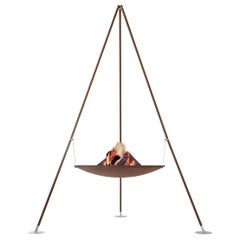 Tripee Fire Pit by AK47 Design