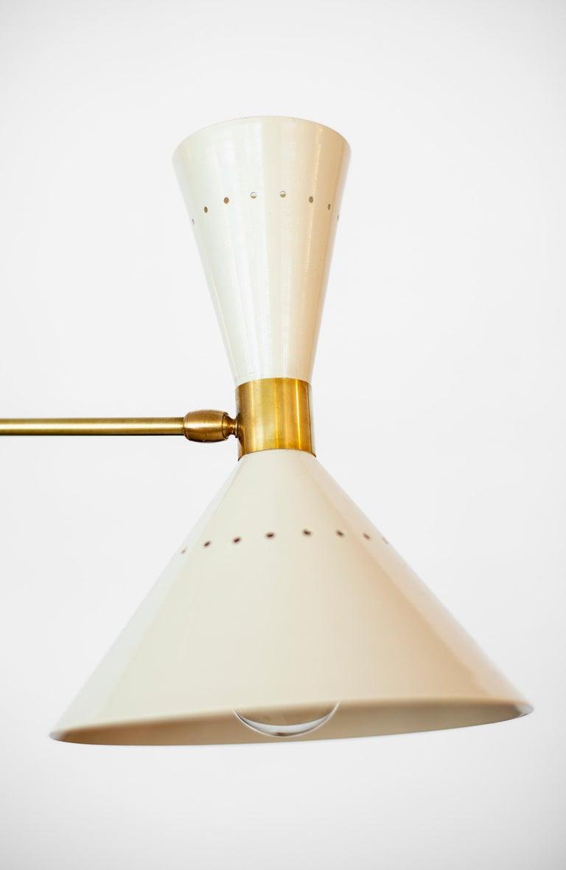Contemporary Triple Counterbalance Italian Pendant For Sale
