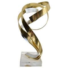 Triple Ribbon Sculpture by Dan Murphy