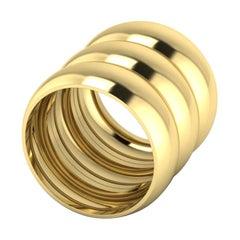 18k Gold Band Rings