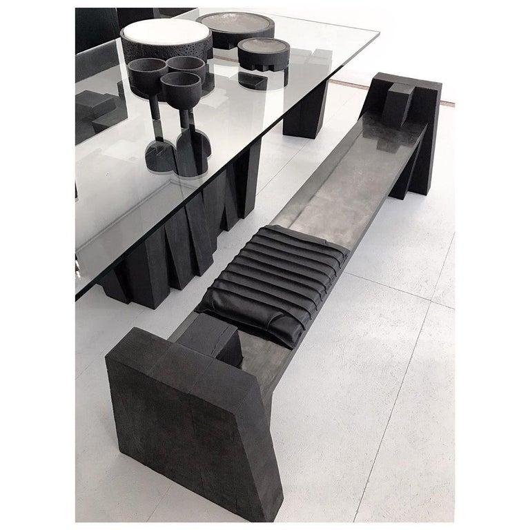 Belgian Triple Tray in Iroko Wood, Arno Declercq For Sale
