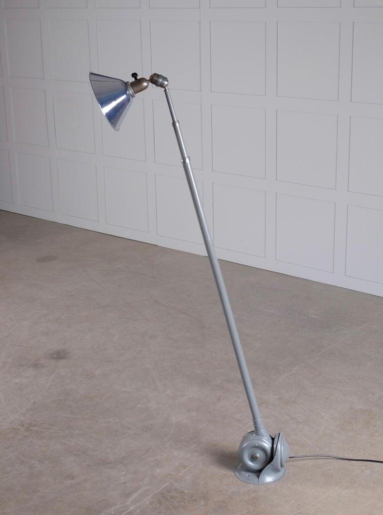 Triplex Industrial Lamp by Johan Petter Johansson, Sweden, 1940s For Sale 3