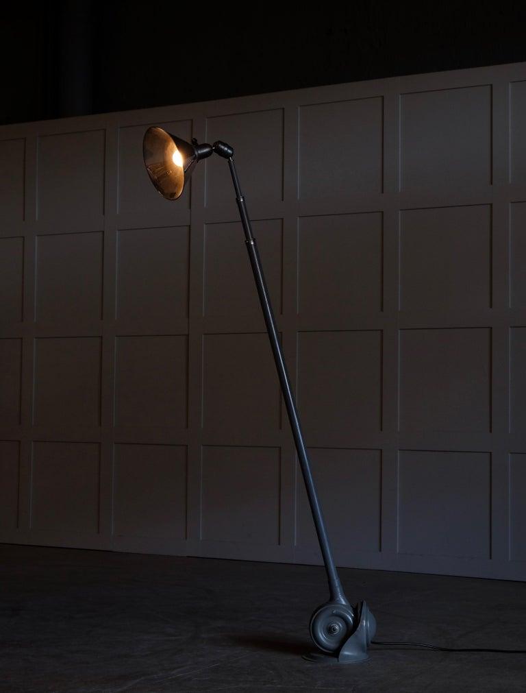 Swedish Triplex Industrial Lamp by Johan Petter Johansson, Sweden, 1940s For Sale