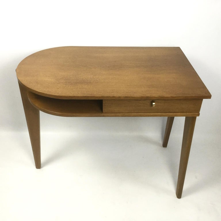 Tripod Desk Attributed to Jacques Adnet 1950s 2