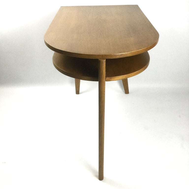 Post-Modern Tripod Desk Attributed to Jacques Adnet 1950s